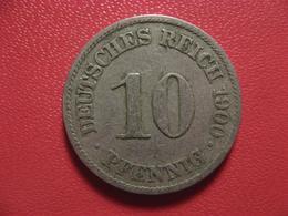 Allemagne - 10 Pfennig 1900 A 4340 - [ 2] 1871-1918 : German Empire