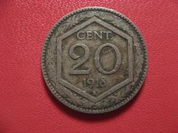 Italie - 20 Centesimi 1918 R Rome 4351 - 1861-1946 : Kingdom
