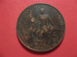 5 Centimes Dupuis 1916 4293 - France