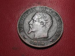 5 Centimes Napoléon III 1854 A Paris 4301 - France