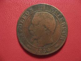 5 Centimes Napoléon III 1854 A Paris 4317 - France