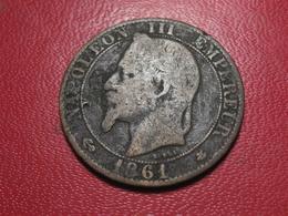 5 Centimes Napoléon III 1861 A Paris 4309 - France