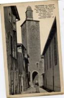43 CRAPONNE-SUR-ARZON - Le Donjon Ou Tour Carrée De L'Horloge - Craponne Sur Arzon