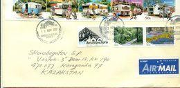 Australia 2007.Envelope Passed The Mail. Autocamping.Flora. - 2010-... Elizabeth II
