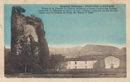 H22 - 38 - BEAUVOIR-EN-ROYANS - Isère - Reste De La Chapelle Du Château Delphinal Et Ancien Couent Des Carmes - France