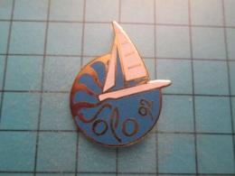 Pin512g2 Pin's Pins : Rare Et Belle Qualité : VOILE VOILIER SOLO 92   , Marquage Au Dos : - ----  - - Boats