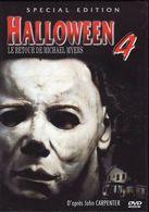 DVD Halloween 4 Etat: TTB Port 110 Gr Ou 30gr - Horreur