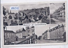 LUXEMBOURG- RARE CARTE MULTI-VUES - Autres
