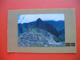 CUSCO.MACHUPICCHU - Peru