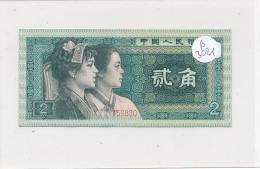 Billets -B3021- Chine -2 Er  Jiao 1980 (type, Nature, Valeur, état... Voir  Double Scan) - China