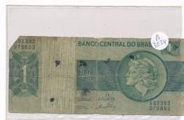 Billets -B3024 -Brésil - Um Cruzeiro (type, Nature, Valeur, état... Voir  Double Scan) - Brazil