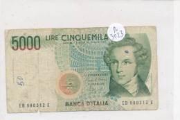 Billets -B3023 -Italie - 5000 Lire (type, Nature, Valeur, état... Voir  Double Scan) - [ 2] 1946-… : Républic