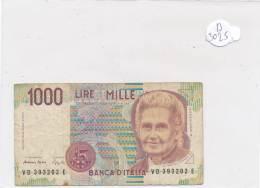 Billets -B3025 -Italie - 1000 Lire (type, Nature, Valeur, état... Voir  Double Scan) - [ 2] 1946-… : République