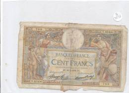 Billets -B3026 -France - 100 Francs 1934 (type, Nature, Valeur, état... Voir  Double Scan) - 1871-1952 Circulated During XXth