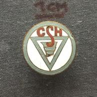 Badge (Pin) ZN006379 - Romania Hunedoara Steel Works CSH - Trademarks