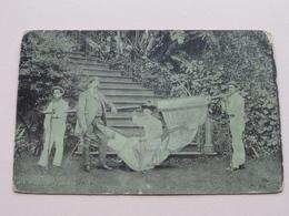 MADEIRA ( N° 4 ) HAMMOCK - Anno 1912 ( Zie Foto's Voor Detail ) West Indië ! - Cartes Postales