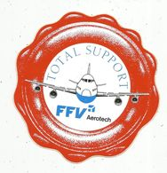 Autocollant , AVIATION & ESPACE , FFV Aerotech , Total Support - Autocollants