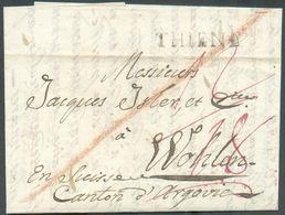 LAC De THIENE (près De Vienne) Le 27 Février 1833 Vers Wohlen (Suisse)-   12424 - Österreich