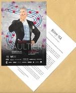 Carte Promo Publicitaire Advertising Card JEAN PAUL GAULTIER KUSMI TEA * 2015 * R/V - Modern (from 1961)