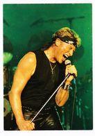 Johnny HALLYDAY Carte Postale A.M.S. KARACTER N° JH 11 - Entertainers