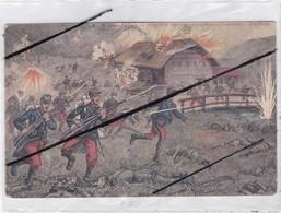 En Haute-Alsace ;Prise D'un Moulin Par L'Infanterie Française (non Localiser) - Guerra 1914-18