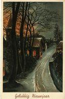 New Year Holland Postcard - Nieuwjaar