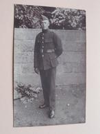 Soldier / Soldaat / Soldat ( Te Identificeren - 14 Op Muts ) Anno 19?? ( Zie Foto Voor Detail ) ! - Guerre, Militaire