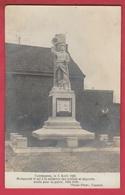 Taintegnies - Monument érigé Le 5 Avril 1920 - Carte Photo ( Voir Verso ) - Tournai