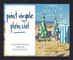 """Petit Calendrier Publicitaire 2018.  Point Virgule, Point Ciel.  Editions """"Jack"""". - Calendars"""