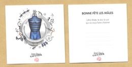 Carte Parfumée Perfume Card ULTRA MALE * JEAN PAUL GAULTIER JPG * R/V - Modern (from 1961)