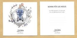 Carte Parfumée Perfume Card LE MALE ESSENCE DE PARFUM * JEAN PAUL GAULTIER JPG * R/V - Modern (from 1961)