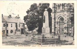 La Petite-Marche (Allier) - Le Monument Aux Morts 1914-1918 - France