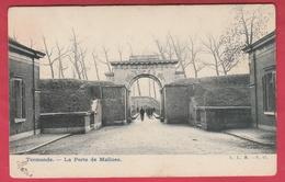 Dendermonde / Termonde - La Porte De Malines - 1906 ( Verso Zien ) - Dendermonde