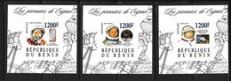 BENIN 2015 ESPACE-COSMONAUTES YVERT N°  NEUF MNH** - Space