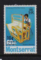Montserrat 1974, Overprint, University, Weaving, Minr 313, MNH. Cv5,50 Euro - Montserrat