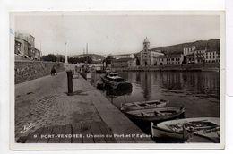 - CPSM PORT-VENDRES (66) - Un Coin Du Port Et L'Eglise - Photo Narbo N° 9 - - Port Vendres