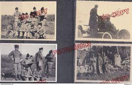 Au Plus Rapide Troupes Françaises En Allemagne 1952 Régiment Artillerie Baumholder Vollmersbach Canon Matériel ... - Guerra, Militari