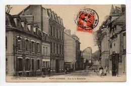 - CPA PONT-AUDEMER (27) - Rue De La Madeleine 1911 (avec Personnages) - Collection Hauchard - - Pont Audemer