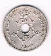 10  CENTIMES 1902 FR BELGIE /187G/ - 1865-1909: Leopold II