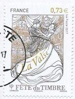 2017 - Fête Du Timbre - La Valse - Y&T N° 5130 - Oblitéré Cachet Rond - Frankreich