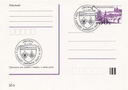 I0269 - Tschechoslowakei (1991) Libeznice: Tschechische Und Slowakische Auslandsscouts Im Land - Briefe