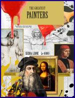 SIERRA LEONE 2017 MNH** Great Painter Da Vinci S/S - OFFICIAL ISSUE - DH1802 - Art