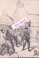 Grêve Des Papetiers à Besançon En 1908 - Reproduction - Besancon