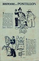 BUVARD HISTOIRE DU POSTILLON - Alimentaire