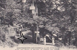 """BERTHEMONT-les-BAINS  Allée Des Bains Et Montée De L' """"HÔTEL Des BAINS"""". - France"""