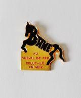 Pin's Au Cheval De Fer Belle Ile En Mer - Pin's & Anstecknadeln