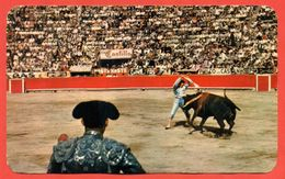 Mexico 1976.Postcard Went Through The Mail. Bullfight. - Mexico