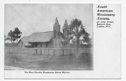 The Pass Church. Parguayan Chaco Mission. - Paraguay