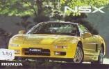 HONDA * Télécarte JAPON VOITURE (299) Phonecard JAPAN *  Telefonkarte * AUTO * CAR * WAGEN *  NSX - Cars