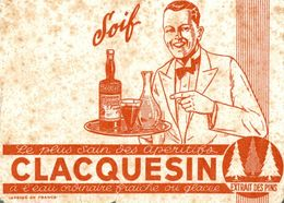 BUVARD APERITIF CLACQUESIN - Liquor & Beer